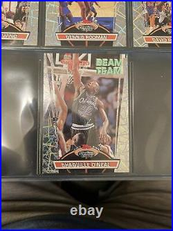 1992-1993 Topps Stadium Club Members Only NBA Set With Beam Team set Jordan Shaq
