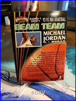 1992-93 Stadium Club MICHAEL JORDAN Beam Team HOF MVP INVESTMENT