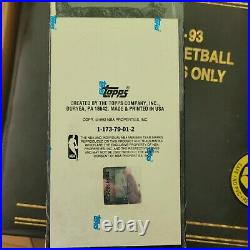 1992-93 Topps Stadium Club Factory Set Sealed Members Only Box, #2505 of #12000