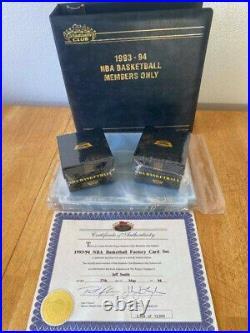 1993 1994 Topps Stadium Club Members Complete NBA Basketball Sealed Box Set