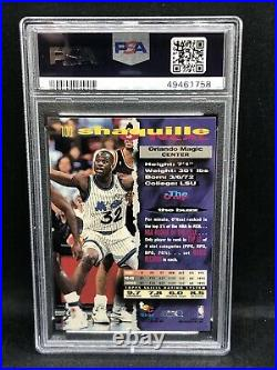 1993-94 Topps Stadium Club #100 Shaquille ONeal 1st Day Issue PSA 9 MINT