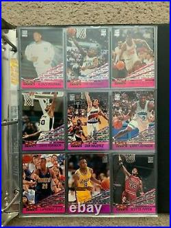 1993-94 Topps Stadium Club Members Only Complete Set Super + Beam Team Sets