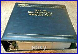 1993-94 Topps Stadium Club Members Only NBA Series 1 & 2, team logos & Beam Team
