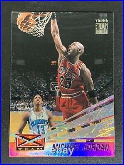 1993 Topps Stadium Club Michael Jordan Beam Team Bulls #4 Hotgoat Invest