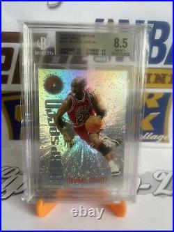 1995-96 Topps Stadium Club Michael Jordan Warp Speed BGS 8.5
