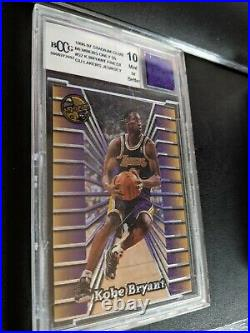 1996-97 Stadium Club Members Only #55 Kobe Bryant RC Rookie GEM MINT BGS BCCG 10