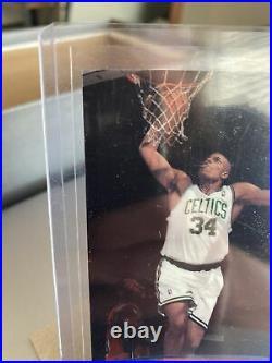 1998 PAUL PIERCE Rookie Card Stadium Club ONE OF A KIND # To 150 Rare NM