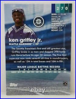 2020 Topps Stadium Club Ken Griffey Jr. SSP IMAGE VARIATION CODE -394 MVP HOF