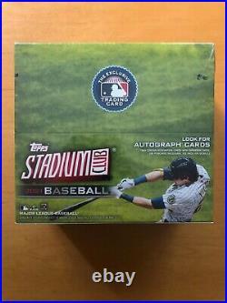 2021 Topps Stadium Club Baseball Display Box Factory Sealed 24 MLB Packs
