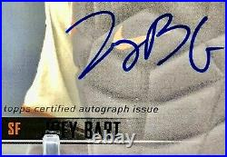 2021 Topps Stadium Club Joey Bart ON CARD AUTO /25 BLACK FOIL SSP Rookie Card