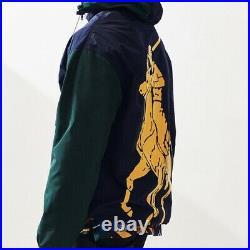 $248 Polo Ralph Lauren USA Flag Stadium Eaton Field Anorak Jacket P-93 NWT XL