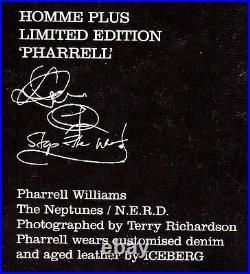 ARENA HOMME PLUS #19 Ltd HARDBACK Edit PHARRELL WILLIAMS Lawrence Chapman N/MINT