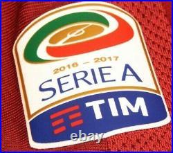 AS ROMA STADIUM ULTIMA MAGLIA TOTTI 2016-17 JERSEY SHIRT TRIKOT limited edition