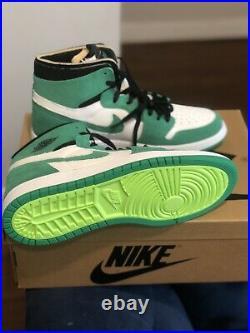 Air Jordan 1 Zoom Air CMFT Stadium Green White Black Shoe Retro OG Mens 12
