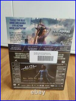Alita Battle Angel 4K Filmarena Fullslip XL Black Barons mit WEA Steelbook NEU