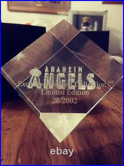 Anaheim Angels Exclusive Stadium Collection Limited Edition 28/2002 paper weight