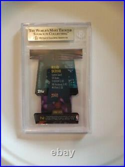 BGS 9 1998-99 Stadium Club Triumverate Luminescent Refractor Allen Iverson T14B