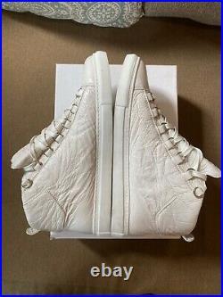 Balenciaga Arena High Sneaker Size 42 (US 9) Triple White