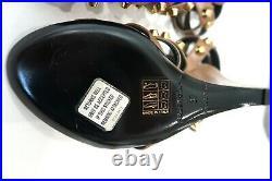 Balenciaga Faithful Beige Leather Arena Gladiator Studded Sandals Sz 37 NWT $945