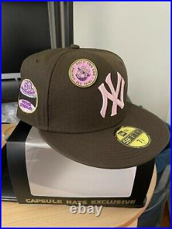 Capsule Hat 50th Anniv Yankee Stadium Size 7 1/8 NEW LacedUp Limited Edition