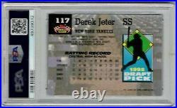 DEREK JETER 1993 TOPPS STADIUM CLUB Murphy #117 PSA 9 MINT Rookie LIM ED HOF RC
