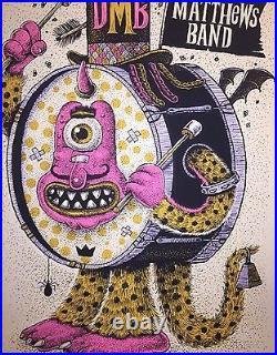 Dave Matthews Band Poster Des Moines Ia Print Methane Dmb Wells Fargo Arena Dmb