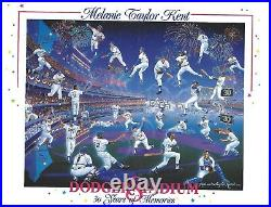 Dodger Stadium 30 Years of Memories, Limited Edition Serigraph Framed