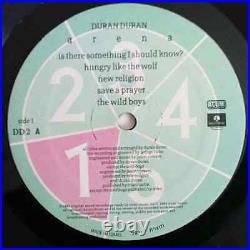 Duran Duran Arena / Planet Earth Ultra Rare 12 ISRAEL PROMO ISRAELI LP