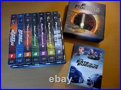 FAC #90 FilmArena FAST AND FURIOUS 1 8 MANIACS Full Slip Steelbook Blu-ray