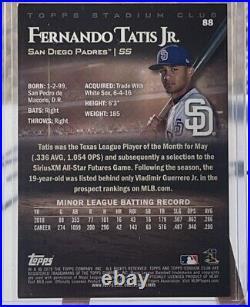 Fernando Tatis Jr RC 2019 Topps Stadium Club #88 Rookie Sunglasses SSP Padres