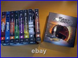FilmArena 4K UHD FAC FAST AND FURIOUS 1 9 MANIACS Full Slip Steelbook Blu-ray