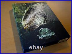 FilmArena 4K UHD FAC Jurassic Park 1 2 3 World 1 2 Full Slip Steelbook 3D Bluray