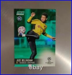Jude Bellingham RC Rookie Topps Chrome Stadium Club UEFA 2020 #54 Green /99
