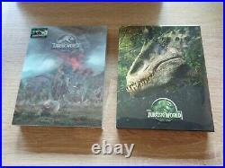 Jurassic Park World Filmarena FAC steelbook Blu-Ray Fullslip Neu&OVP