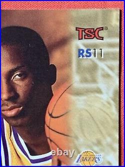 Kobe Bryant 1996-97 Stadium Club Rookie Showcase #RS11 Hologram RC Rare SP