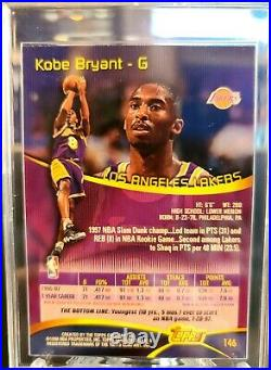 Kobe Bryant Autographed/ Signed 1997-98 Stadium Club 2nd Yr