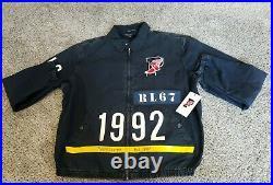 LARGE Ralph Lauren Polo Stadium 1992 Jacket Limited Edition Indigo Pwing New