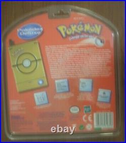 Limited Edition 2001 New Gold Pokemon Pokedex Deluxe Stadium Events GERMAN