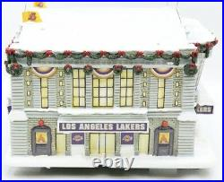 Los Angeles Lakers Arena Christmas Village Hawthorne Village Limited Edition COA