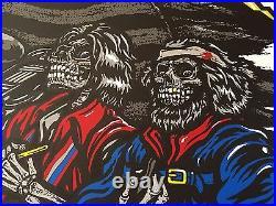 Metallica Poster Gillette Stadium Foxboro, MA 5/19/17 Limited Edition
