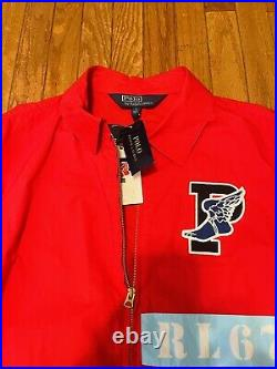 NWT Polo Ralph Lauren 1992 Stadium P Wing Jacket L