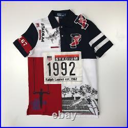 NWT Polo Ralph Lauren Mashup P-wing 1992 Stadium Limited Edition Shirt XXL