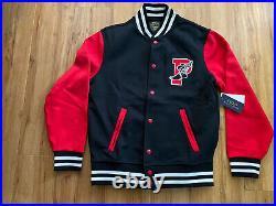 NWT Polo Ralph Lauren P-Wing 1992 Stadium Varsity Baseball Jacket. 2XL