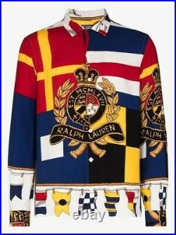 NWT Rare Polo Ralph Lauren Crest Shirt Limited Edition Sz Small Stadium Pwing