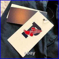 New Polo Ralph Lauren Indigo Stadium Denim Jacket RL-67 1992 P-Wing Mens Sz XL