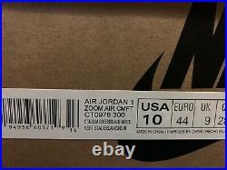 Nike Air Jordan 1 High Zoom CMFT Stadium Green CT0978-300 Size 10 Mens