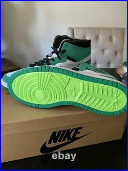 Nike Air Jordan 1 High Zoom CMFT Stadium Green CT0978-300 Size 11 Mens