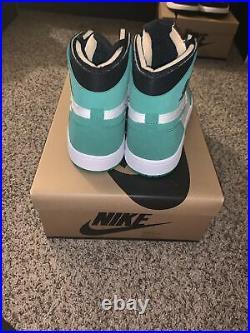 Nike Air Jordan 1 High Zoom CMFT Stadium Green CT0978-300 Size 9.5 Mens
