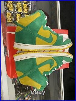 Nike Dunk High Pro SB Oakland A's Stadium Green Bob Marley 305050 337 Size 8.5