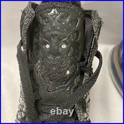 Nike Lebron XVII 17 In The Arena Shoes BQ3177 002 Black White Cookies Cream 12
